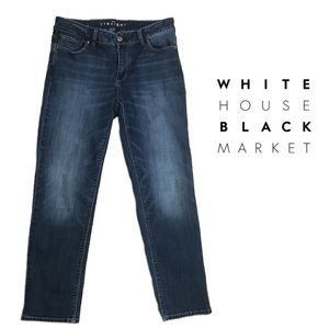 WHBM Straight Ankle Jeans Size 4